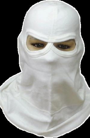 CAP1006 Capucha tipo ninja nomex natural