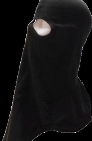 CAP1008 Capucha overface negra